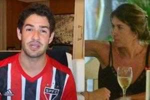 Pato surgiu ao vivo e Rebeca Abravanel foi mencionada no SP2 (Foto: Reprodução/TV Globo/AgNews)