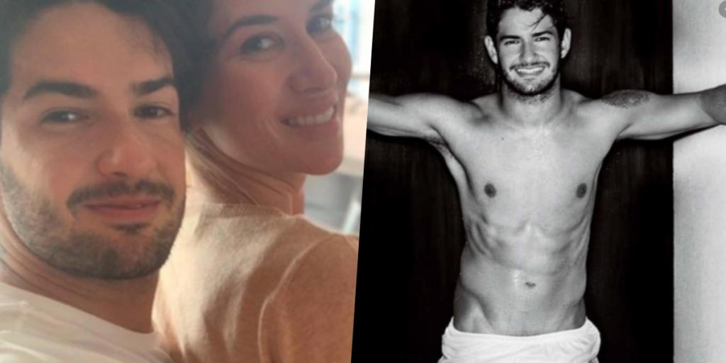 Pato é casado com Rebeca Abravanel, filha de Silvio Santos desde o ano passado (Foto montagem)