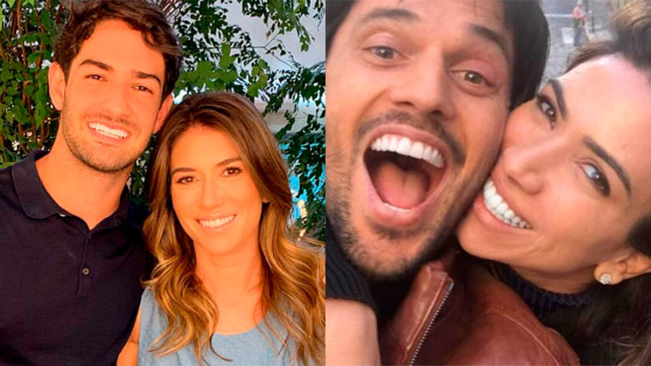 Pato é casado com Rebeca Abravanel e Fábio Faria é casado com Patrícia (Foto: Reprodução/Instagram)