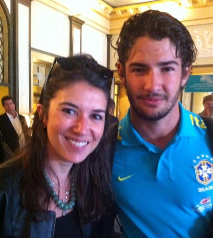 Rebeca Abravanel e Pato já se conheciam em 2012 (Foto: Reprodução/Instagram)
