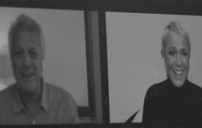 Pedro Bial entrevistou Xuxa na Globo - Foto: Reprodução