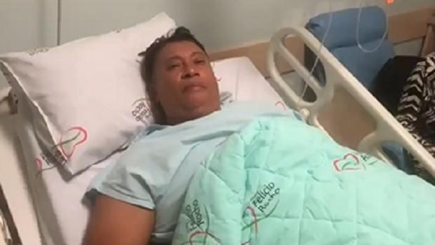 Pedro Manso no hospital - Foto: Reprodução