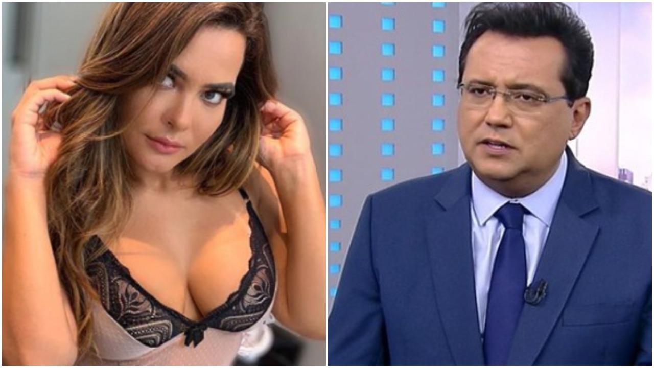 Geisy Arruda e Geraldo Luís (Foto: Reprodução)