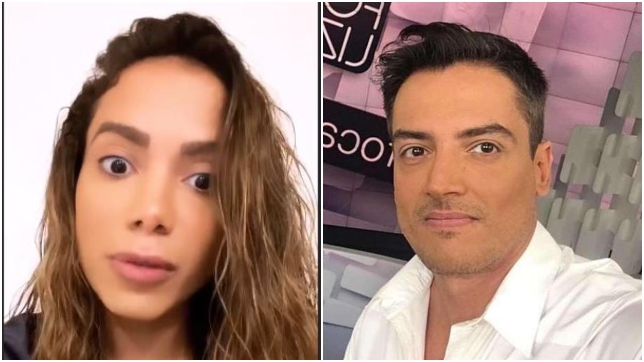 Anitta e Leo Dias (Foto: Reprodução)