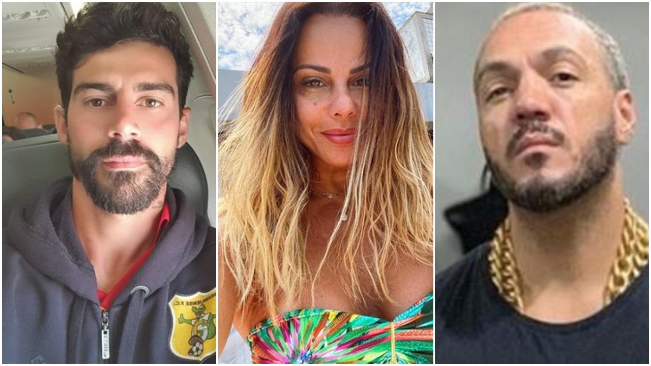 Viviane Araújo já se envolveu com Radamés e Belo e não teve muita sorte com os dois (Foto: Reprodução)