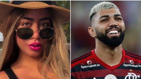 Rafaella Santos e Gabigol foram namorados no passado e não terminaram da melhor forma (Foto: Reprodução/ Montagam)