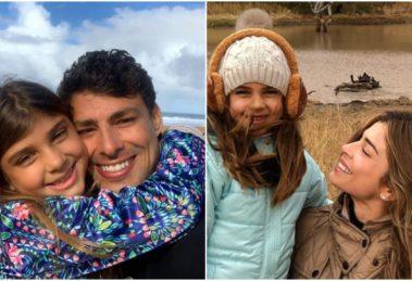 Grazi Massafera e Cauã Reymond decidiram compartilhar registros de Sofia (Foto: Reprodução/ Montagem/ Instagram)