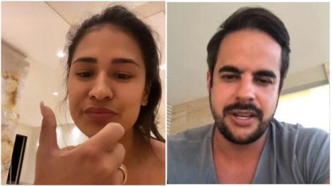 Simone e Kaká Diniz são um casal (Foto: Reprodução)