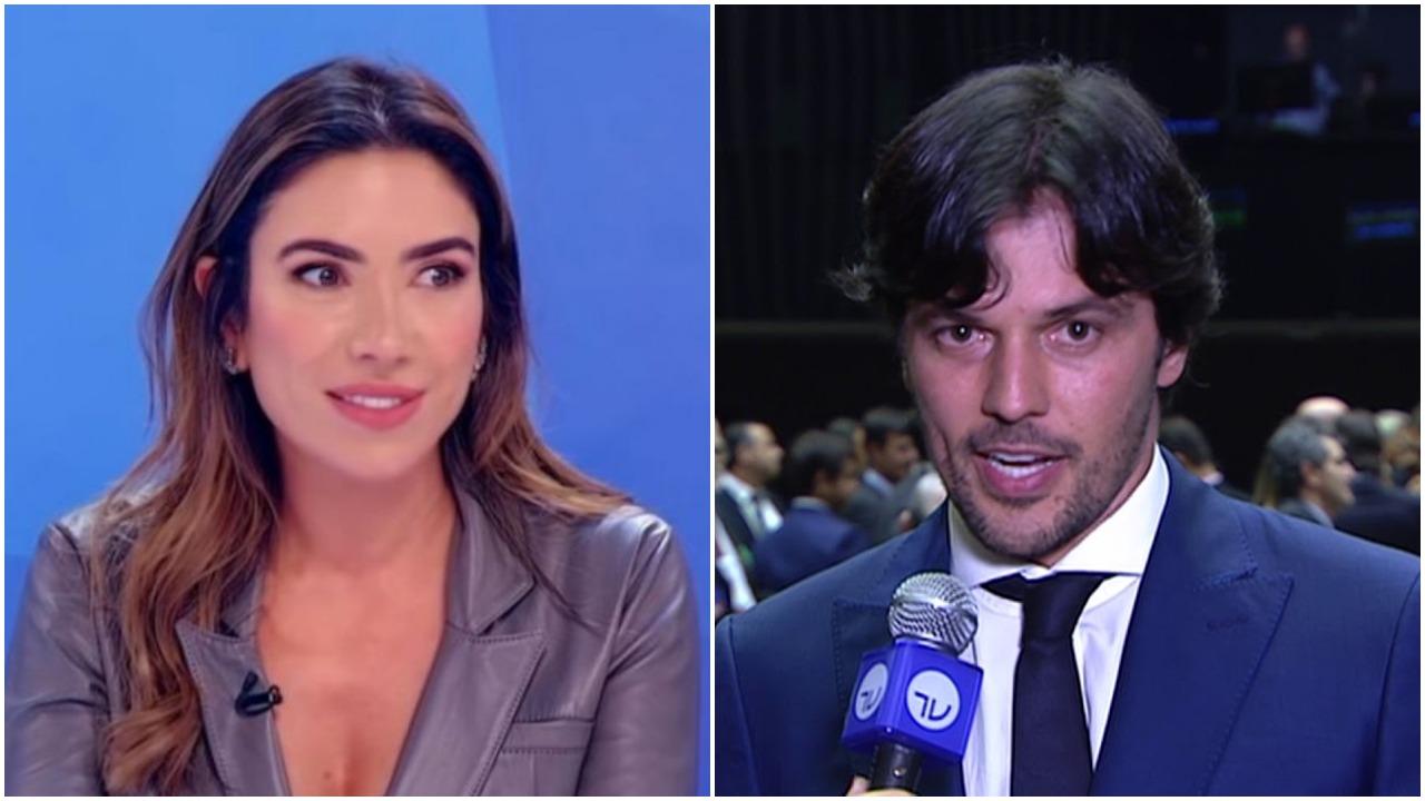 Patrícia Abravanel e Fábio Faria (Foto: Reprodução)
