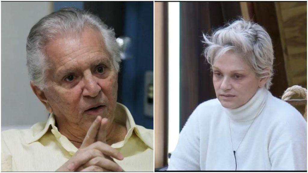 Carlos Alberto e Andréa Nóbrega (Foto: Reprodução)