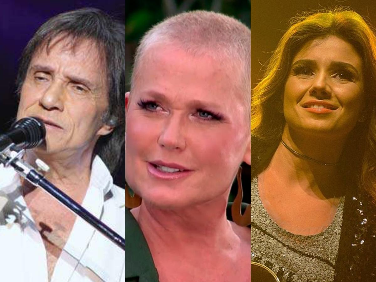 Sensitivas falam sobre apresentadora da Record, Xuxa Meneghel, do cantor Roberto Carlos e da sertaneja, Paula Fernandes (Foto: Reprodução/Montagem TV Foco)