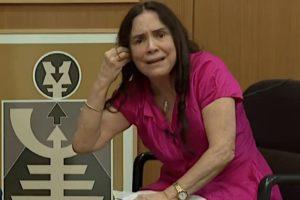 Regina Duarte durante entrevista para a CNN Brasil - Foto: Reprodução
