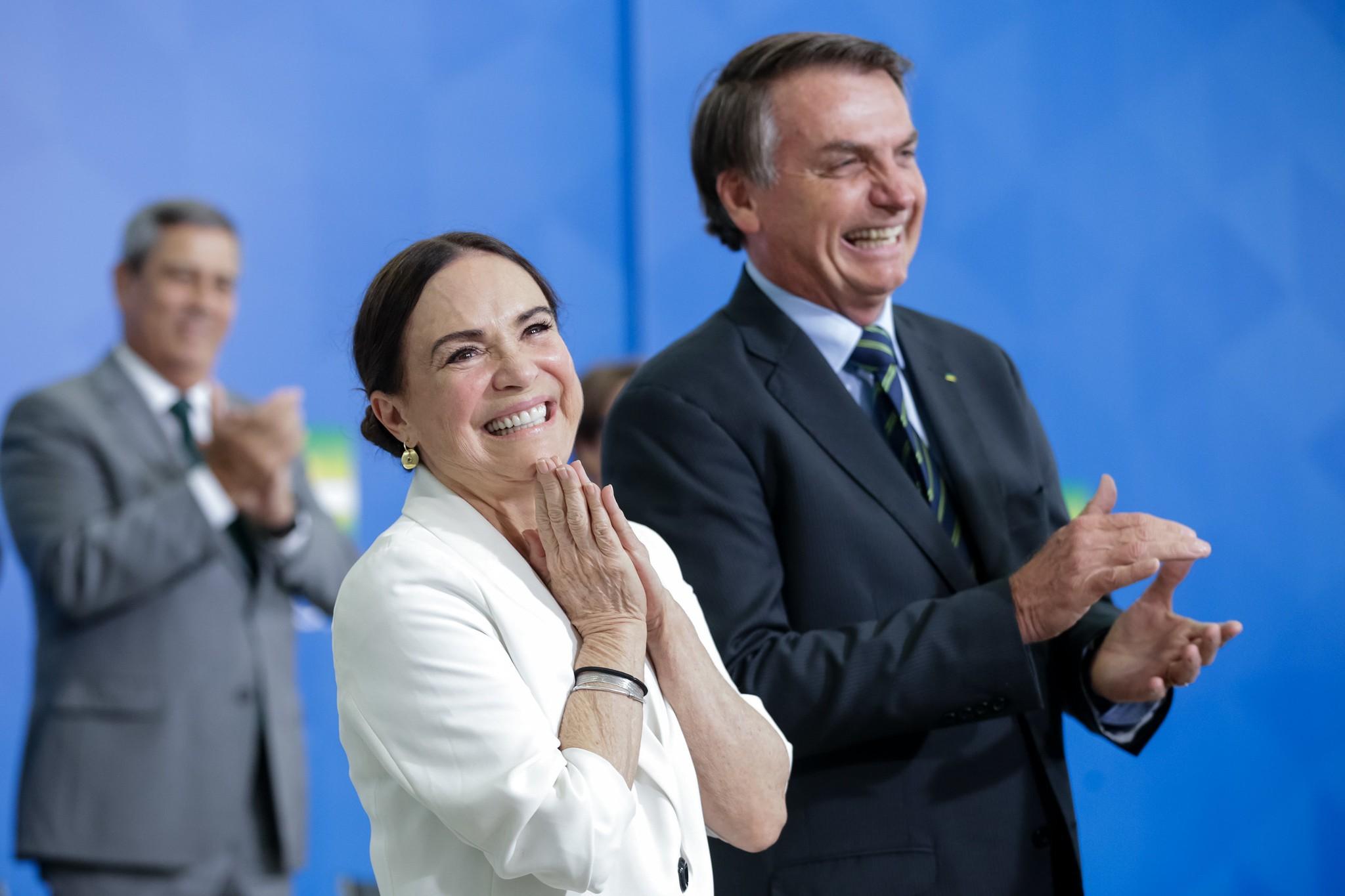 Regina Duarte, Bolsonaro e a novela envolvendo o Ministério da Cultura - Foto: Divulgação