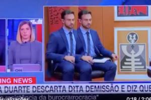 Regina Duarte, ao vivo, acabou perdendo o chão em entrevista ao falar de possível demissão do governo Bolsonaro (Foto montagem: TV Foco)
