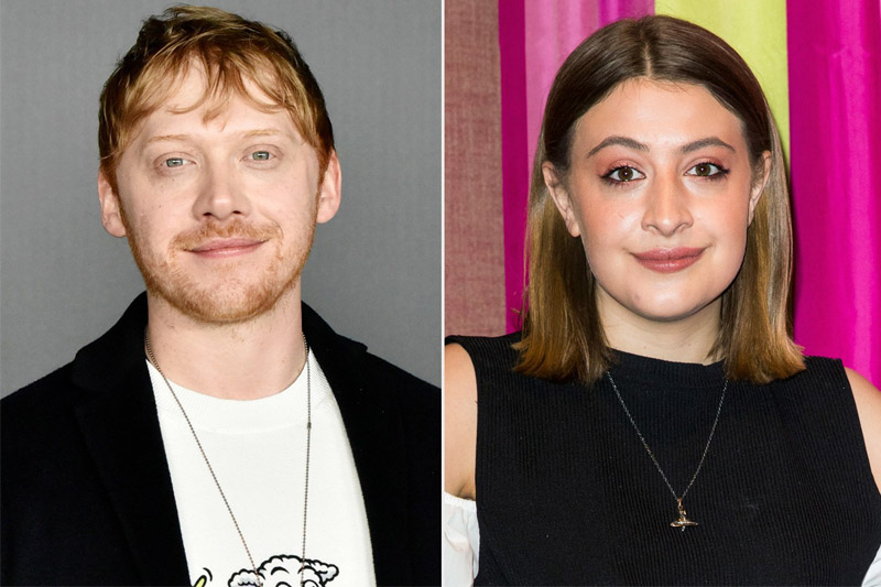 Rupert Grint, de Harry Potter e Georgia Groome