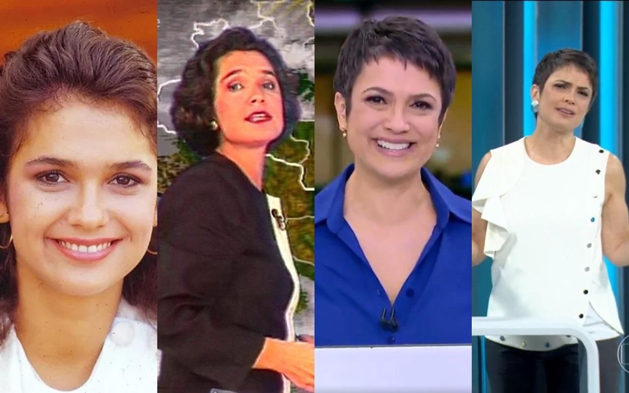 Conheça mais sobre a grandiosa carreira de Sandra Annenberg (Foto: Montagem TV Foco)