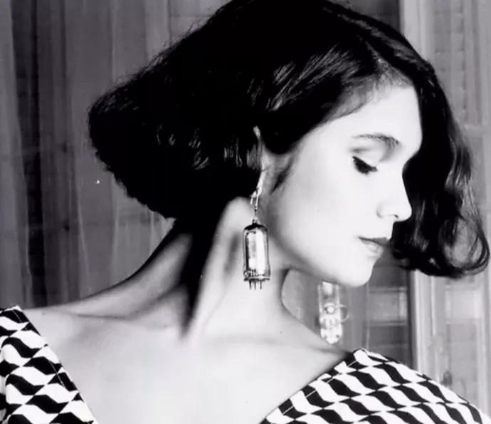 Sandra Anenberg nos tempos em que era modelo e atriz (Foto: reprodução)