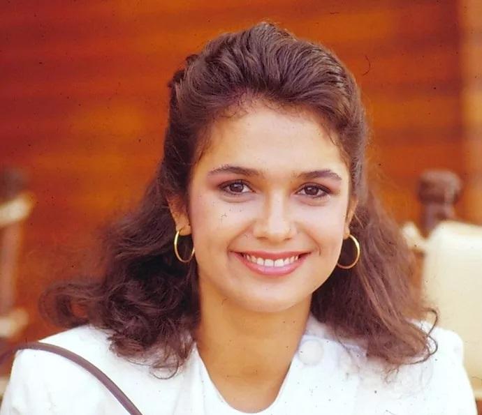 A atriz no seriado 'Tarciso e Glória' (Foto: reprodução/Globo)