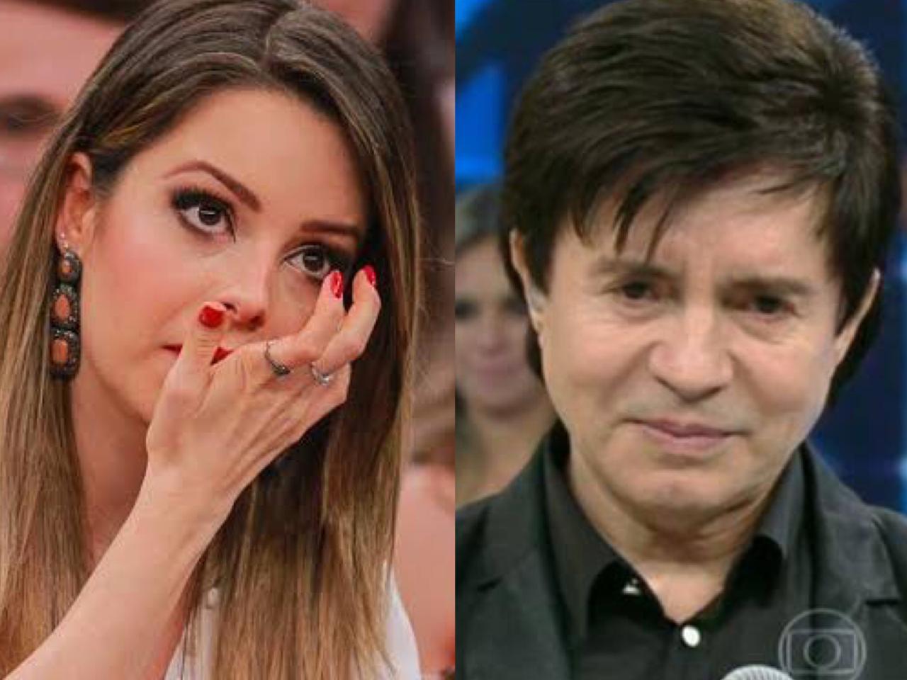 Cantor Eduardo Costa contou que Sandy sofreu com bebedeira do pai Xororó (Foto montagem)