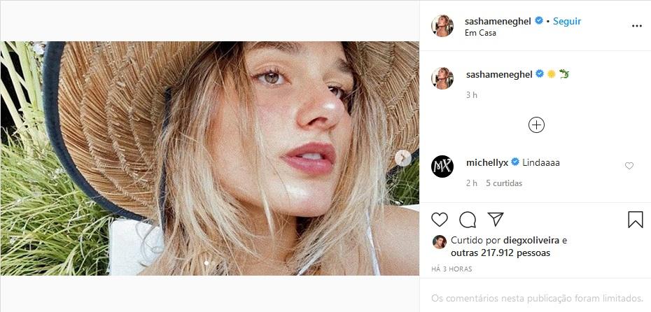 Xuxa: Sasha apesar das polêmicas está de boa com a vida (Foto: Reprodução)