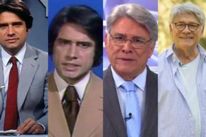 Conheça mais sobre a carreira de Sérgio Chapelin (Foto: Montagem TV Foco)