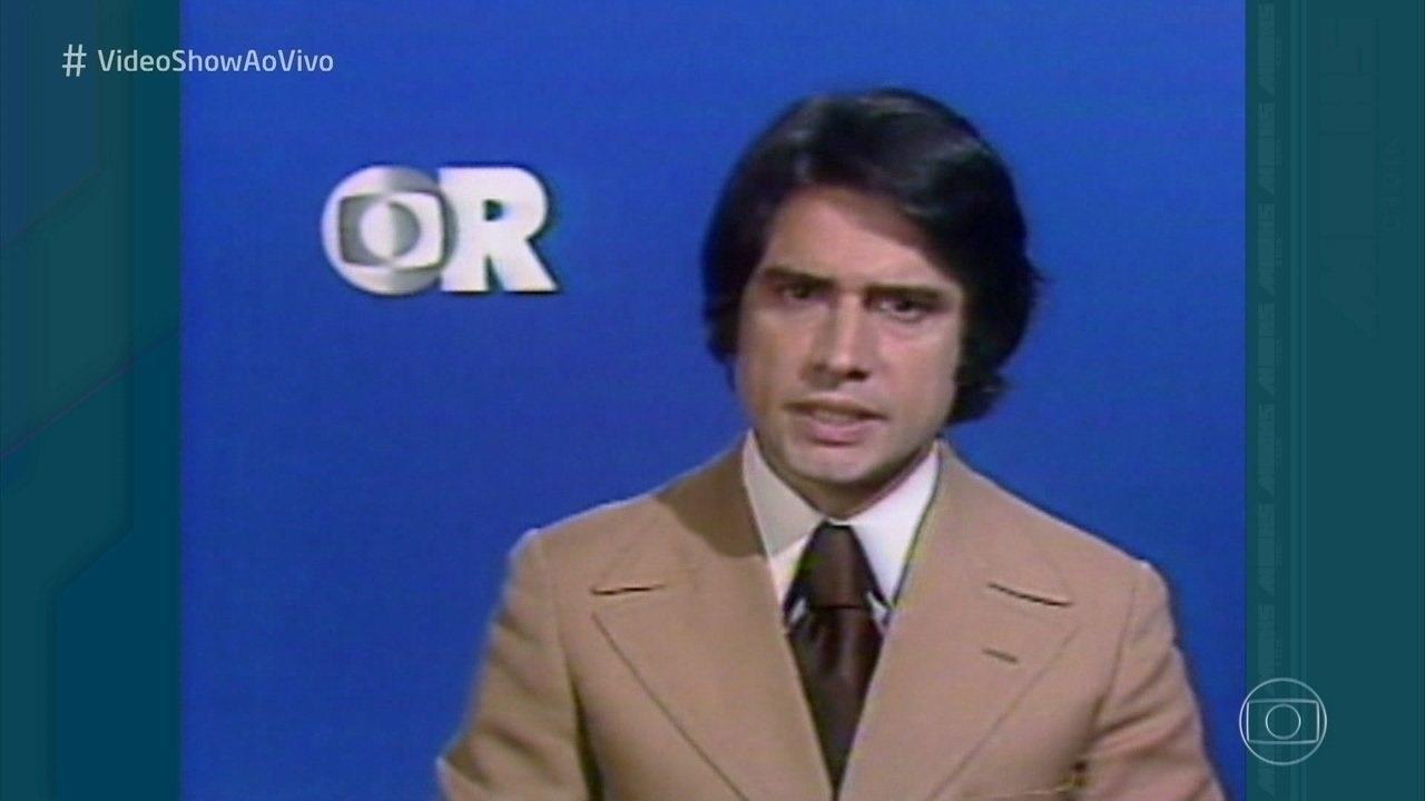 O jornalista no 'Globo Repórter' (Foto: reprodução/Globo)