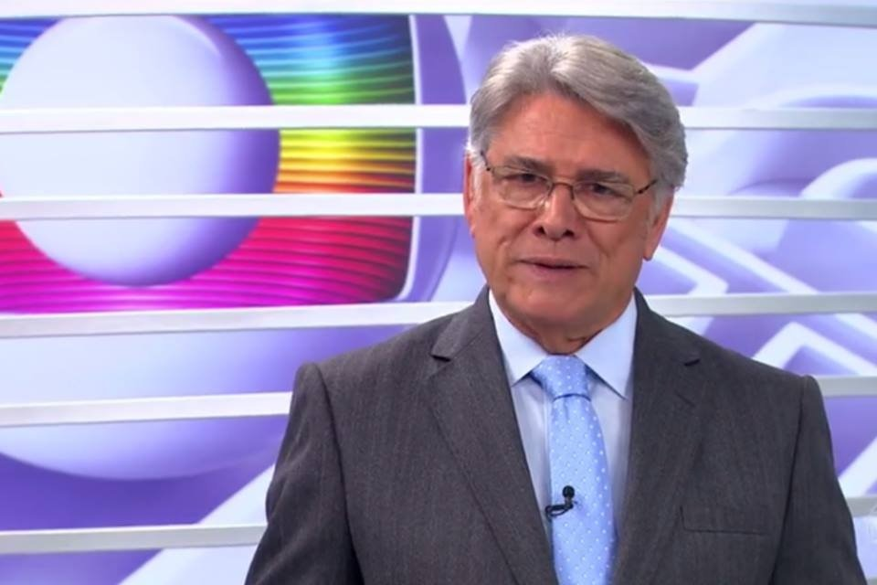 O jornalista retornou ao 'Globo Repórter' (Foto: reprodução/Globo)