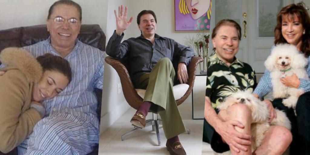 Segundo informações, Silvio Santos está completamente isolado na casa dele (Foto montagem)