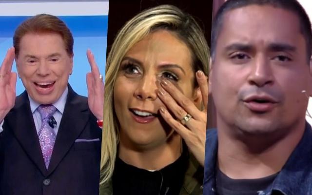 Silvio Santos, Carla Perez e Xanddy (Foto: Reprodução)