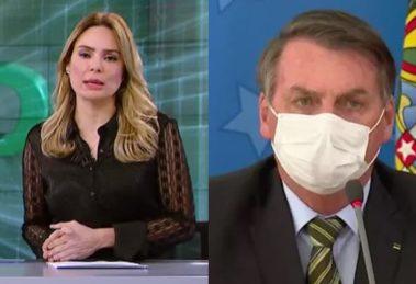 Silvio Santos puniu Rachel Sheherazade para defender Bolsonaro - Foto: Reprodução