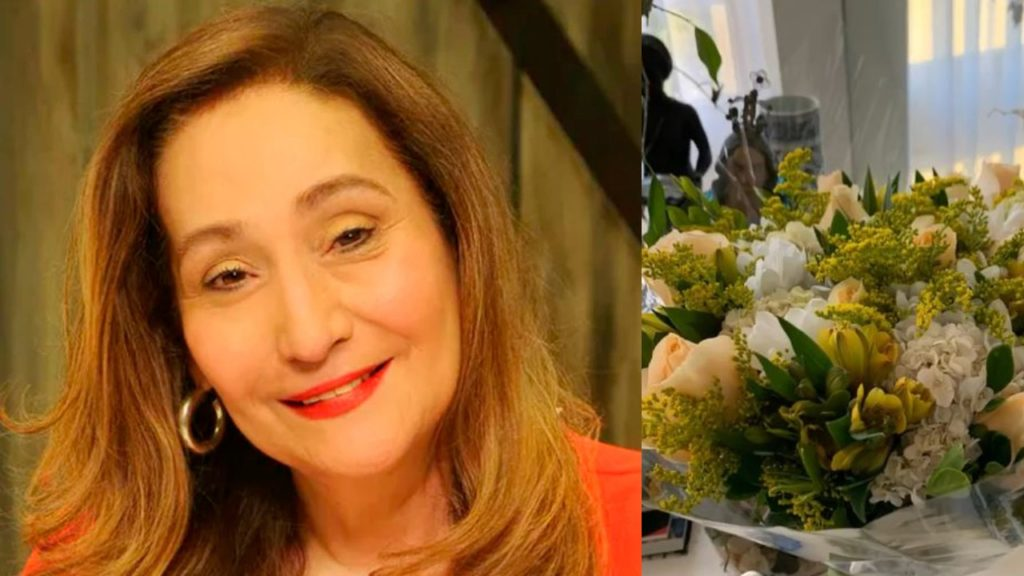 Sonia Abrão exibiu mimo em suas redes sociais (Foto: Reprodução/RedeTV!/Instagram)