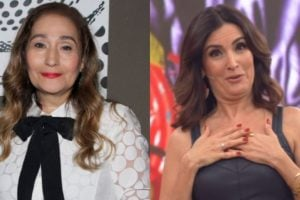 Sonia Abrão deu informações sobre o programa de Fátima Bernardes (Foto: AgNews/TV Globo)