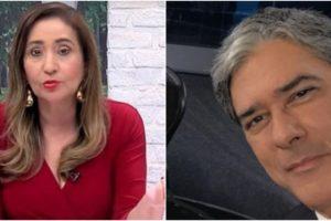 Sonia Abrão repercutiu fala de William Bonner (Reprodução)