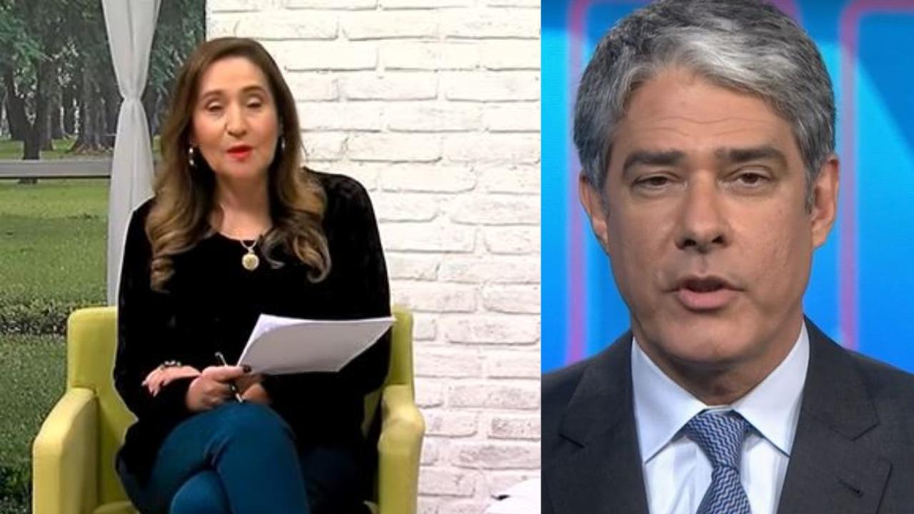 Sonia Abrão elogiou William Bonner (Foto: Reprodução/RedeTV!/TV Globo)