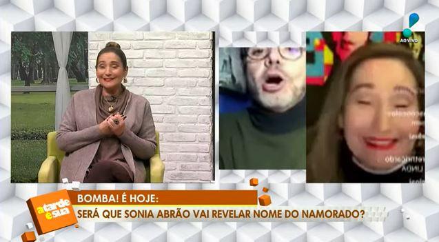 Sonia Abrão teve sua vida amorosa exposta (Foto: Reprodução/RedeTV!)
