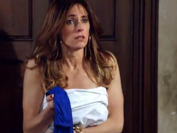 Tereza Cristina passa por apuros em Fina Estampa