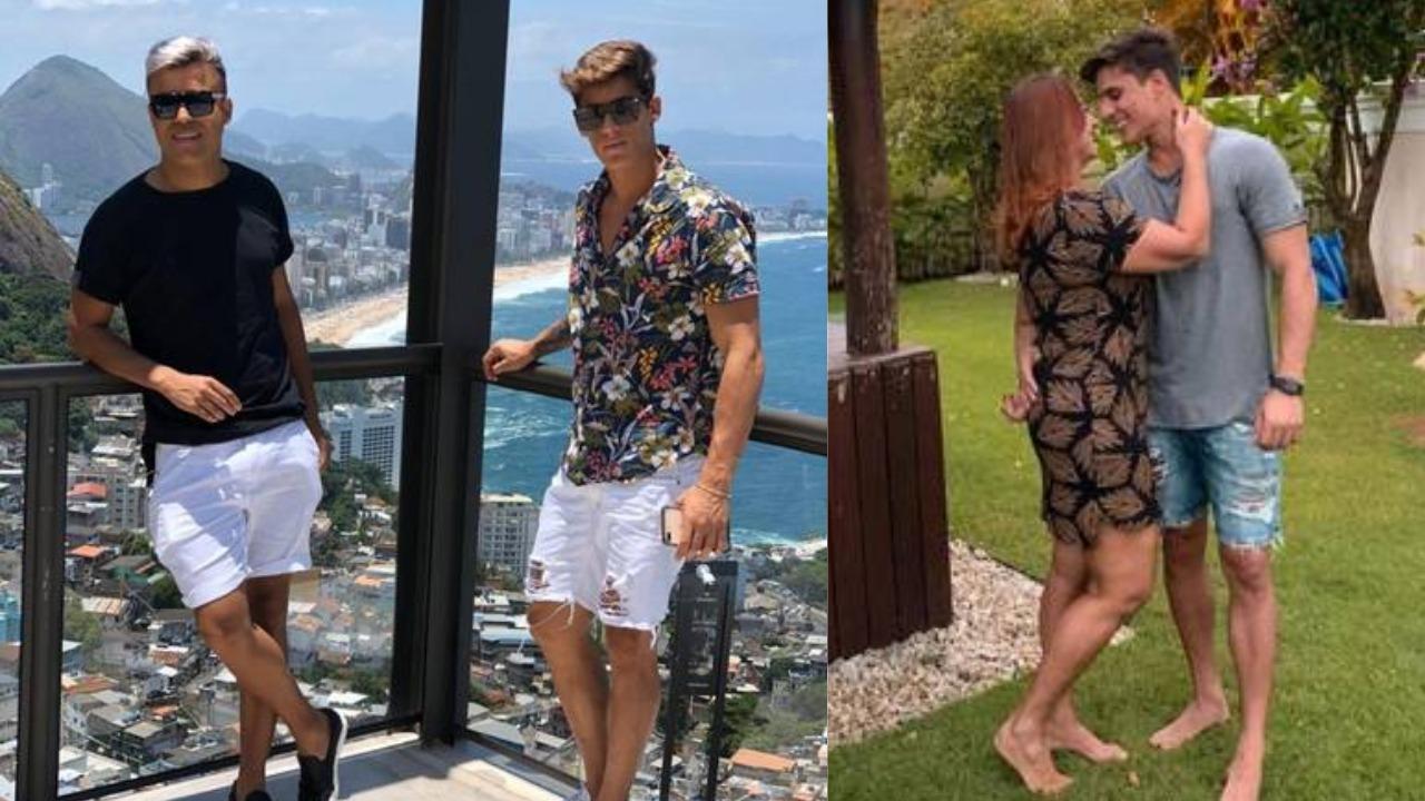 Tiago Ramos, 'padrasto' de Neymar, namorou Irinaldo Oliver antes de Nadine Gonçalves (Foto: Reprodução/Instagram)