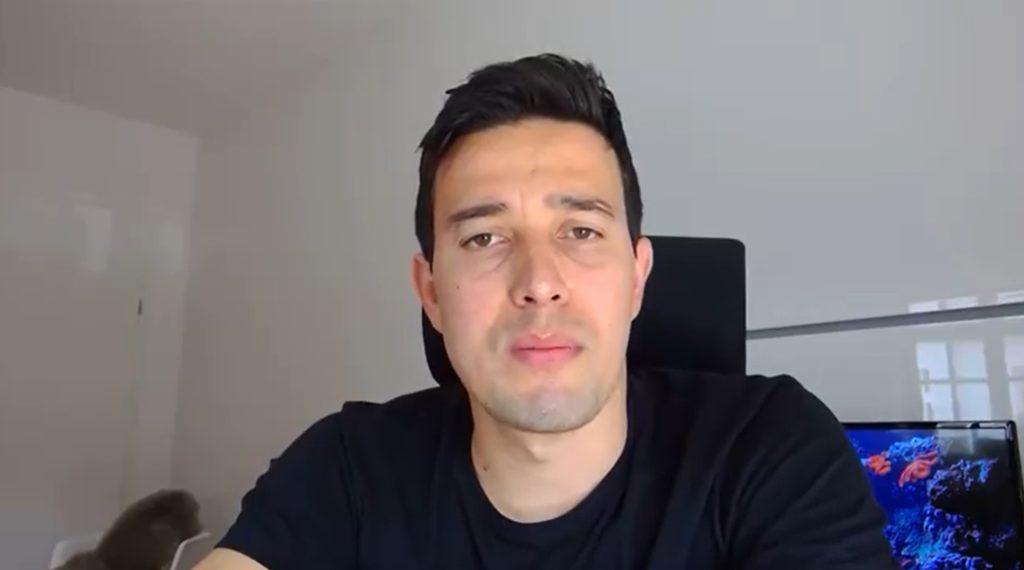 Thiago Salvático concede primeira entrevista para a televisão - Foto: Reprodução/Globo