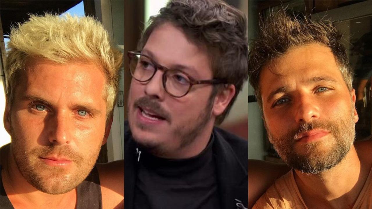 Thiago Gagliasso, Fábio Porchat e Bruno Gagliasso (Foto: Reprodução/Instagram/TV Globo)