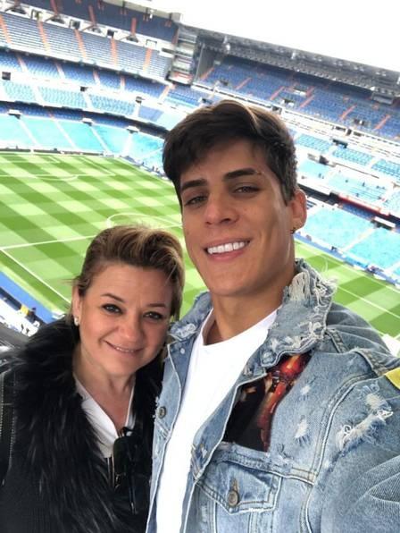 namorado da mãe de neymar