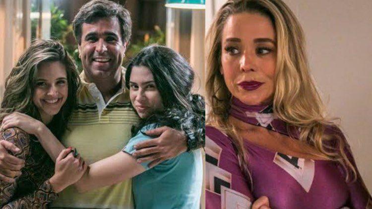 Totalmente Demais, Shirley irá chegar com tudo na trama depois que Hugo ganhar na loteria (Montagem: TV Foco)