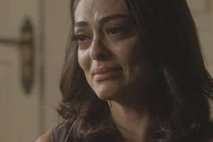 Carolina descobrirá que não pode ser mãe em Totalmente Demais (Imagem: Globo)