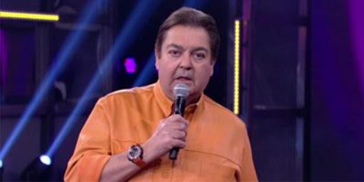 Faustão está afastado dos estúdios da Globo