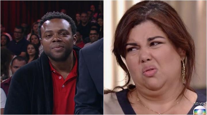 Érico Brás e Fabiana Karla no Tomara Que Caia. (Foto: Montagem/Reprodução)