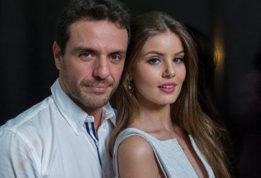 Rodrigo Lombardi (Alex) e Camila Queiroz (Angel) em Verdades Secretas; segunda temporada teve sinopse finalizada (Foto: Divulgação/Globo)