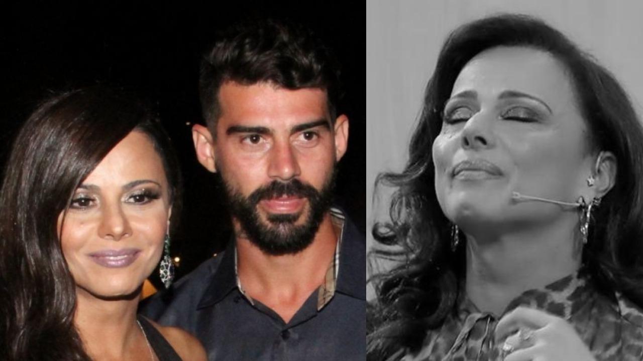 Viviane Araújo foi casada com Radamés (Foto: AgNews/TV Globo)