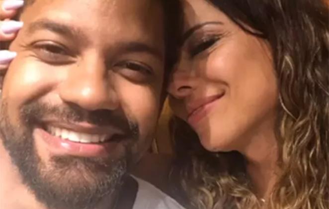 Viviane Araújo e Guilherme Militão (Foto: Reprodução)