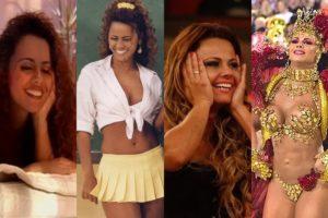 Conheça a monstruosa carreira de Viviane Araújo (Foto: Montagem TV Foco)