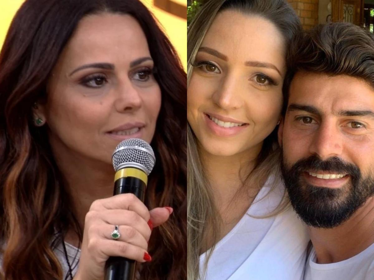 A famosa atriz da Globo e rainha de bateria do Salgueiro, Viviane Araújo processará a mulher de seu ex-marido (Foto: Reprodução/Montagem TV Foco)