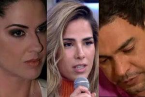Wanessa já teve uma grande briga com Graciele Lacerda, atual de Zezé (Foto montagem: TV Foco)